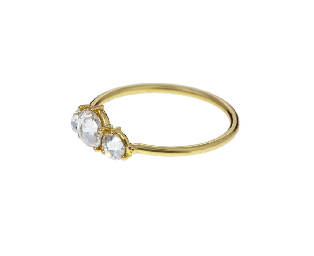 Three Stone Diamond Ring - TWISTonline