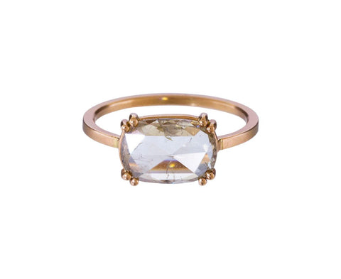 Natural Champagne Diamond Solitaire - TWISTonline