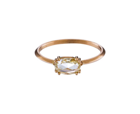 Champagne Diamond Solitaire - TWISTonline