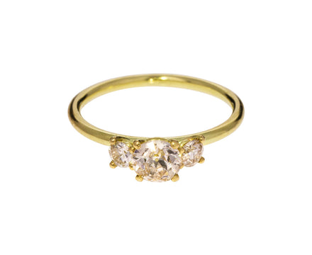Antique and European Cut Diamond Ring - TWISTonline