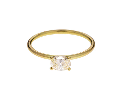 Oval Diamond Solitaire - TWISTonline