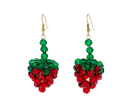Strawberry Fragola Dangle Earrings - TWISTonline