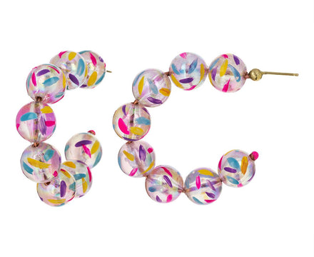Bubble Hoop Earrings - TWISTonline