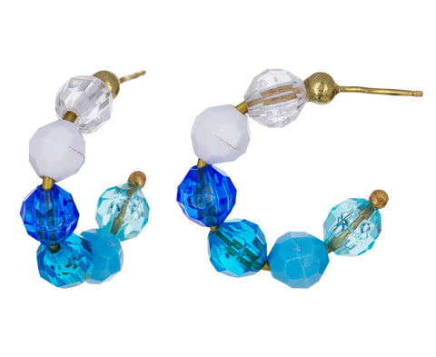 Mini Sea Mist Hoop Earrings - TWISTonline
