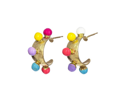 Candy Hoop Earrings - TWISTonline
