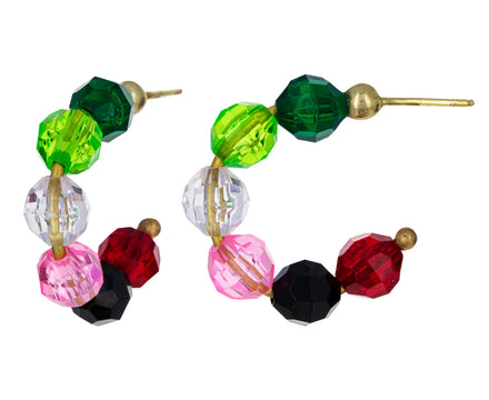 Mini Watermelon Hoop Earrings - TWISTonline