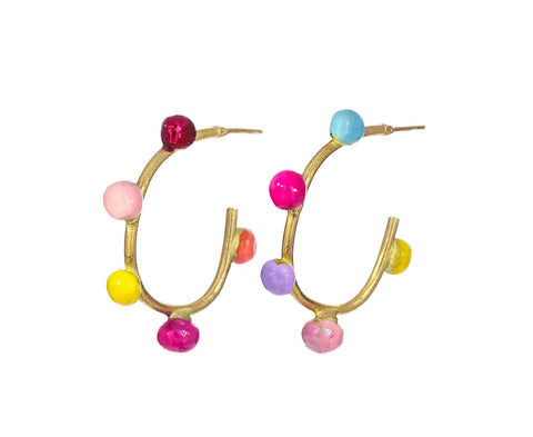 Delicious Hoop Earrings - TWISTonline