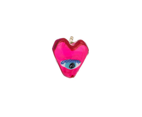 Heart Eye SINGLE Stud - TWISTonline
