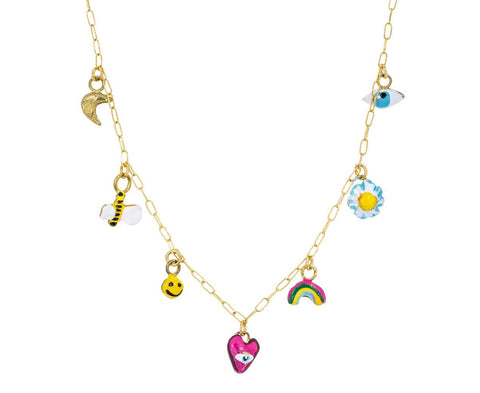 Tiny Joys Charm Necklace - TWISTonline