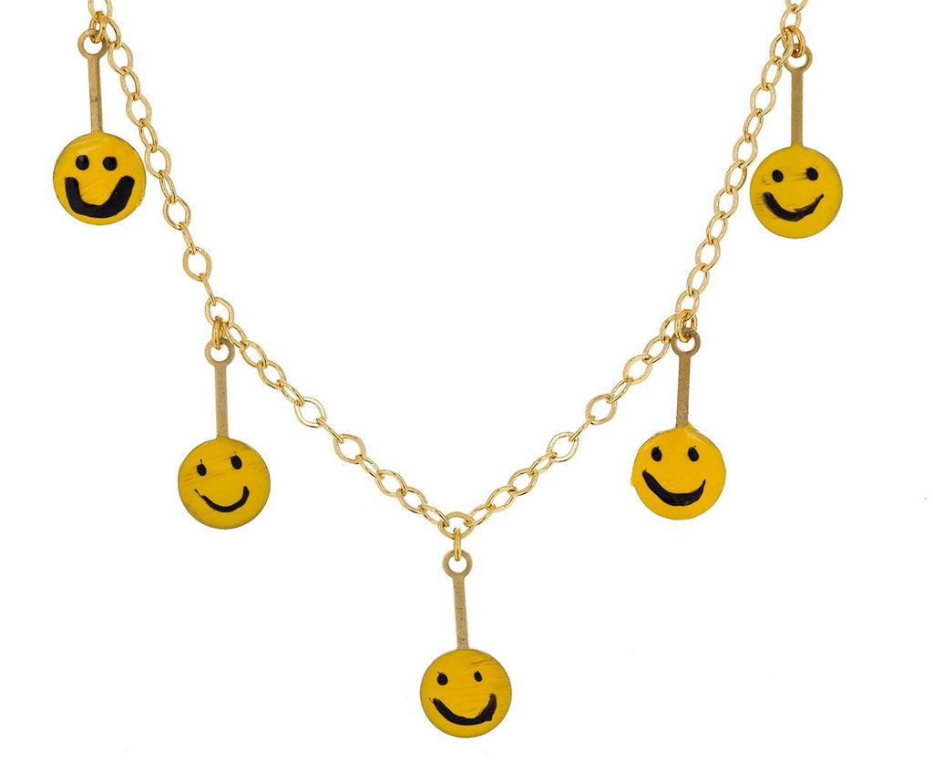 LOL Smiley Face Necklace - TWISTonline