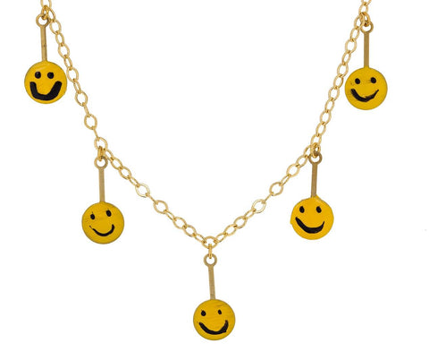 LOL Smiley Face Necklace zoom 1_susan_alexandra_lol_smiley_face_necklace