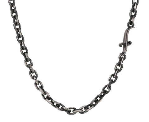 24 Inch Silver Dagger Chain ONLY zoom 1__sevan_bicakci_silver_chain_link_necklace