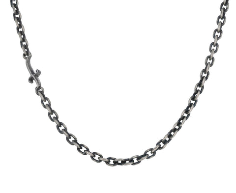"18"" Sterling Silver and Gold Open Ended Chain ONLY"