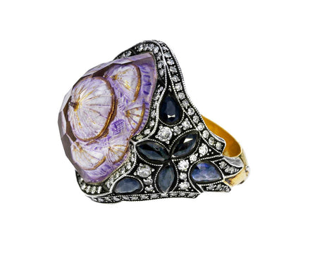 Ottoman Architecture Amethyst Ring - TWISTonline