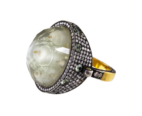 Moonstone Ottoman Architecture Ring - TWISTonline