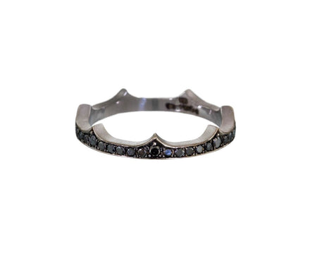 Black Diamond Crown Ring - TWISTonline