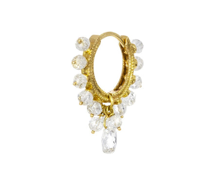 5/16  Diamond Coronet SINGLE Hoop - TWISTonline