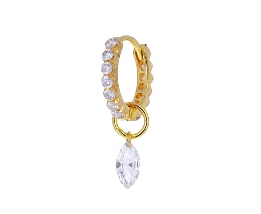 Marquise Diamond Dangle Charm ONLY