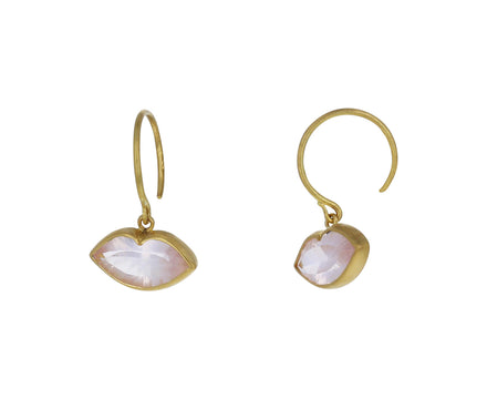 Rose Quartz Tender Kiss Earrings