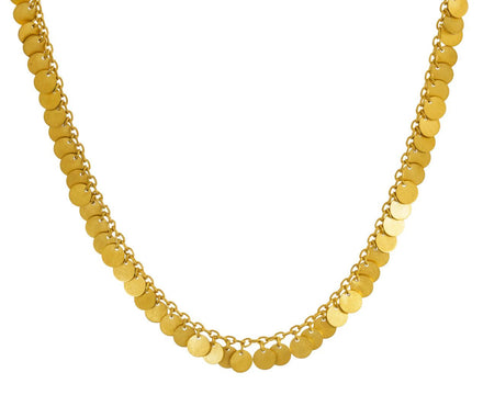 Multitude of Small Sequins Necklace - TWISTonline