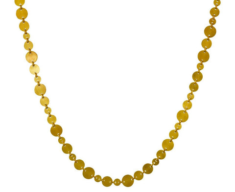 Multi-Sized Sequin Necklace - TWISTonline