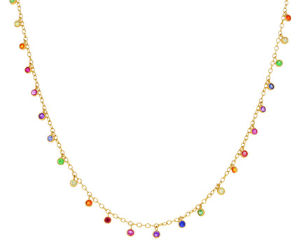 Rainbow Gem Dancing Emilie Necklace