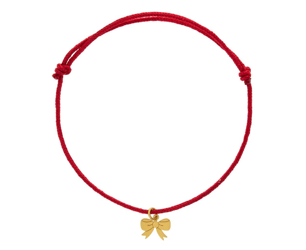 Red Bow Charm Bracelet - TWISTonline
