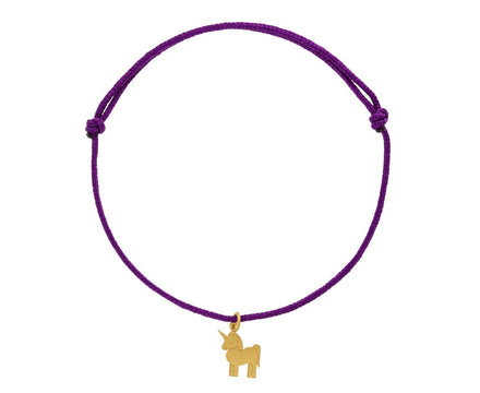 Purple Unicorn Charm Bracelet - TWISTonline