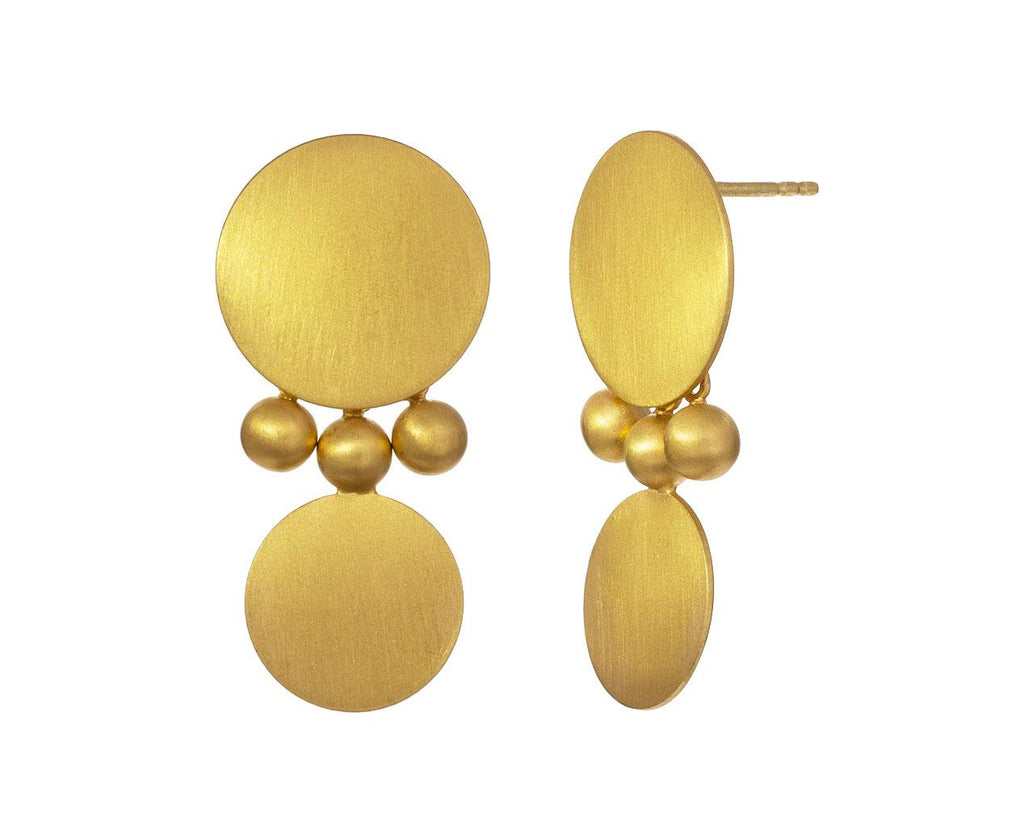 Sequin Dot Sphere Earrings - TWISTonline