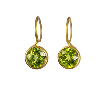 Peridot Ladylike Gem Earrings - TWISTonline