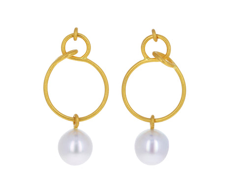 Vestale Pearl Drop Earrings