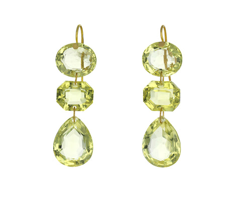 Lemon Quartz Favorite Earrings