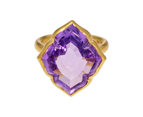 Amethyst Udaipur Princess Ring