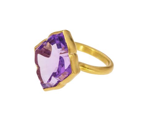 Amethyst Udaipur Princess Ring - TWISTonline
