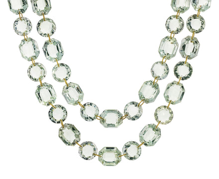 Green Quartz Spring Sautoir Necklace - TWISTonline