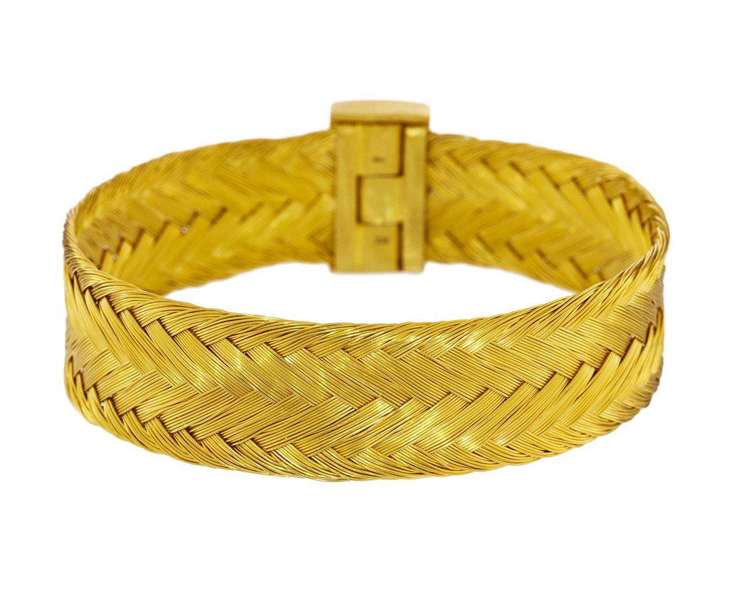 Gold Braided Bracelet - TWISTonline