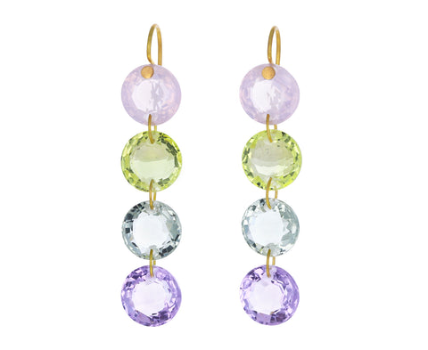 Pastel Rivieres Earrings