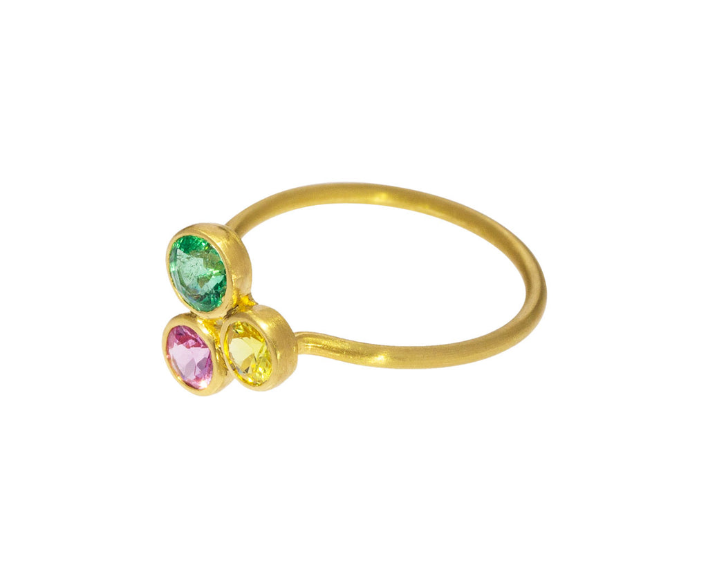 Miniature Multi Gem Madmen Ring