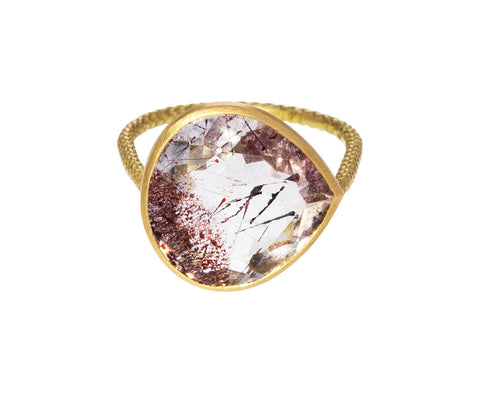 Lepidocrocite Quartz Ring - TWISTonline