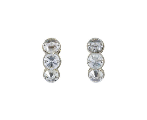 Triple Inverted Diamond Earrings zoom 1_todd_pownell_inverted_diamond_trio_earrings