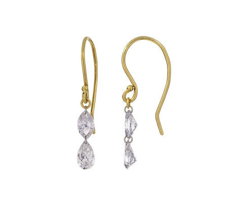 Double Marquise Diamond Earrings zoom 1_todd_pownell_gold_pear_marquise_diamond_earrings