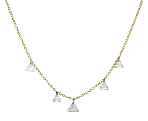 Diamond Trillion Necklace - TWISTonline