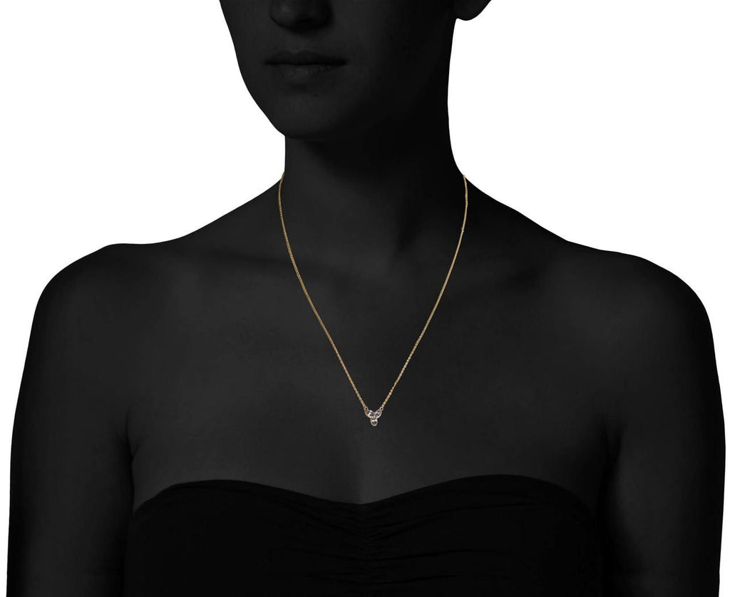 Inverted Marquise Trio Pendant Necklace - TWISTonline