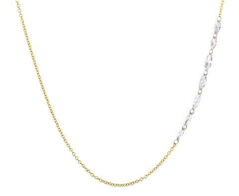 Diamond Marquise Chain Necklace - TWISTonline