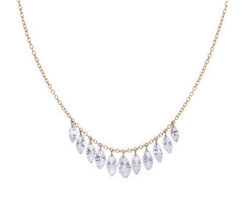 Marquise Diamond Fringe Necklace - TWISTonline