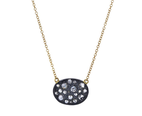 Inverted Diamond Concave Pendant Necklace - TWISTonline