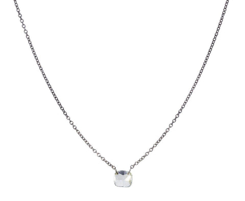 Free Set Diamond Necklace zoom 1_todd_pownell_gold_cushion_cut_free_diamond_neckl