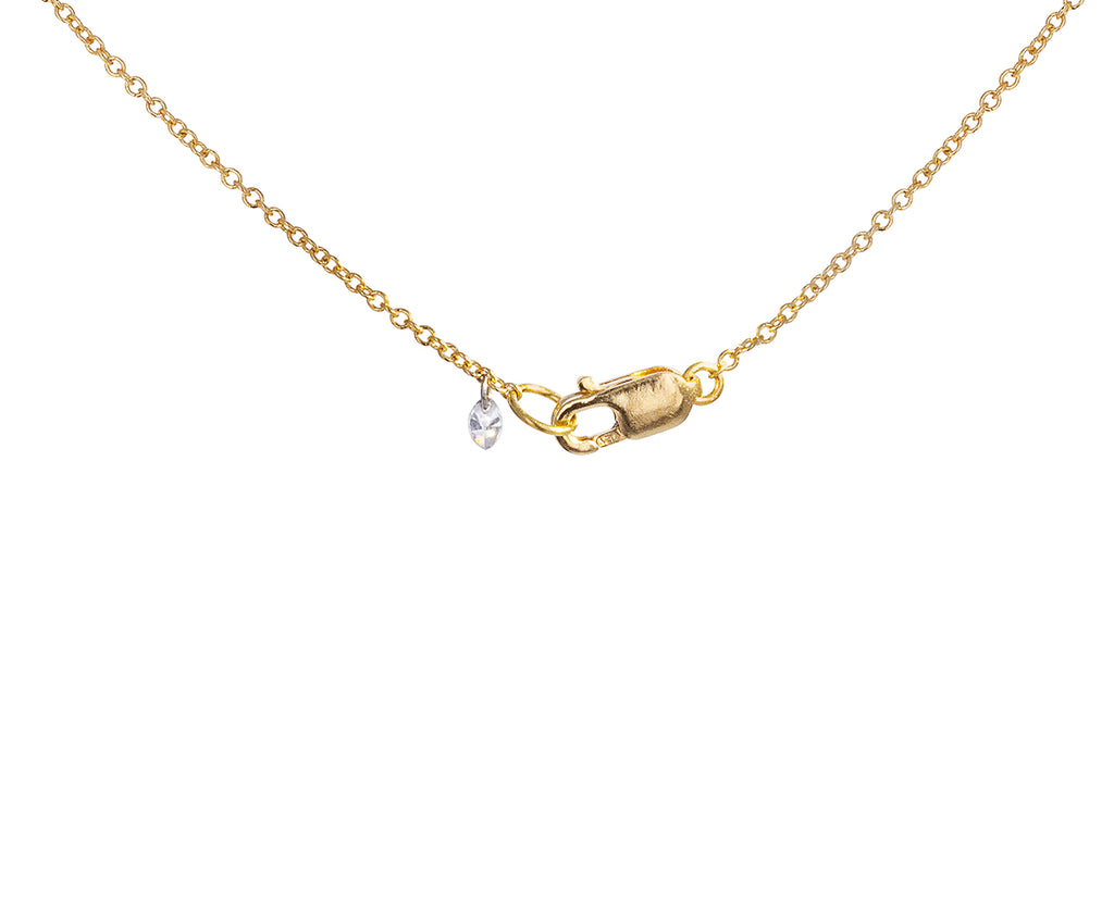 Pear Shaped Diamond Pendant Necklace