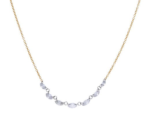 Marquise Diamond Chain Necklace