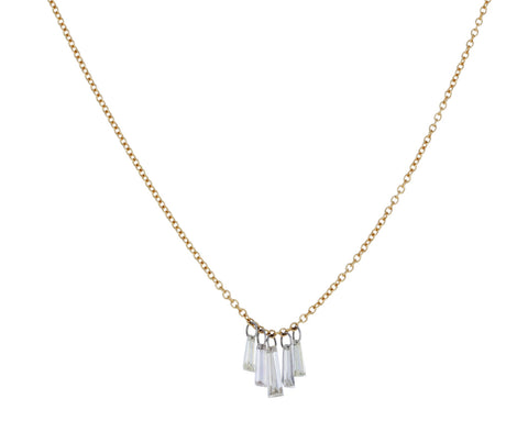 Tapered Baguette Diamond Necklace - TWISTonline